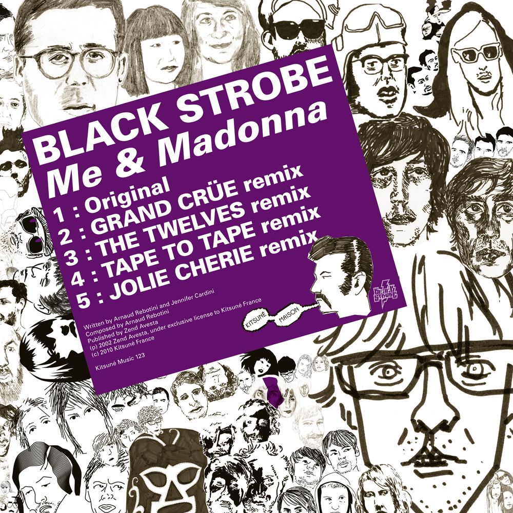 Black Strobe - Me and Madonna (Remix EP)